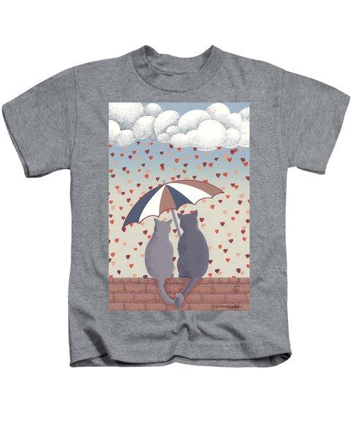 Cats In Love Kids T-Shirt