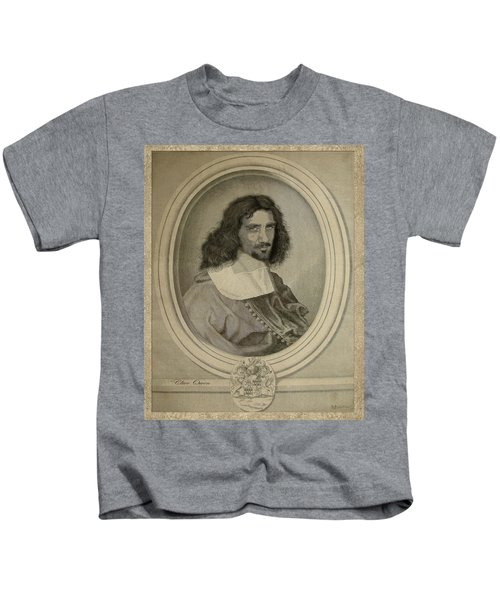 Celebrity Etchings - Clive Owen Kids T-Shirt