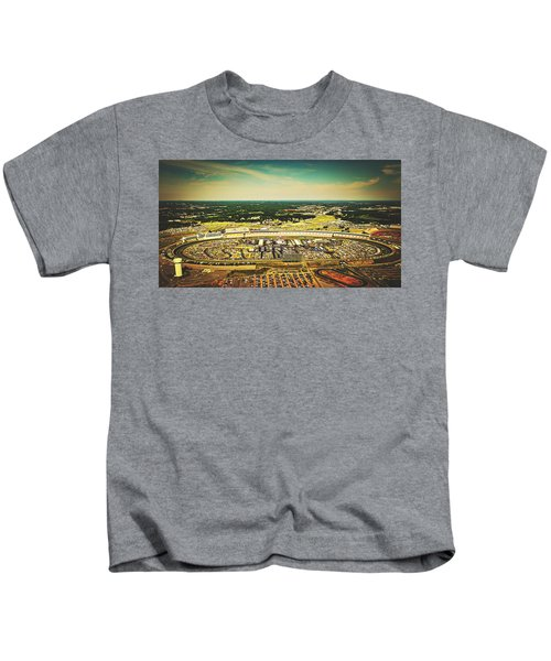 Charlotte Motor Speedway Kids T-Shirt