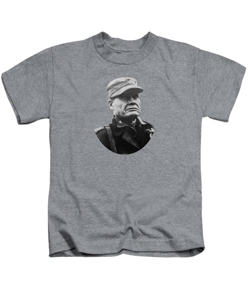 Chesty Puller Kids T-Shirt by War Is Hell Store