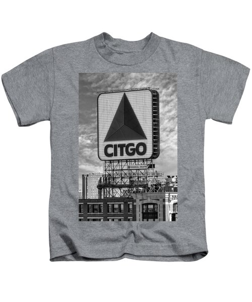 Citgo Sign Kenmore Square Boston Kids T-Shirt