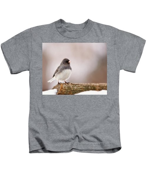 Dark-eyed Junco Kids T-Shirt