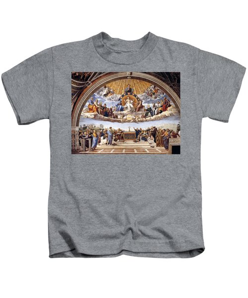 Disputation Of The Eucharist Kids T-Shirt