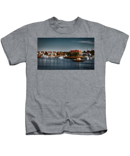 Dyke Park Marina Kids T-Shirt