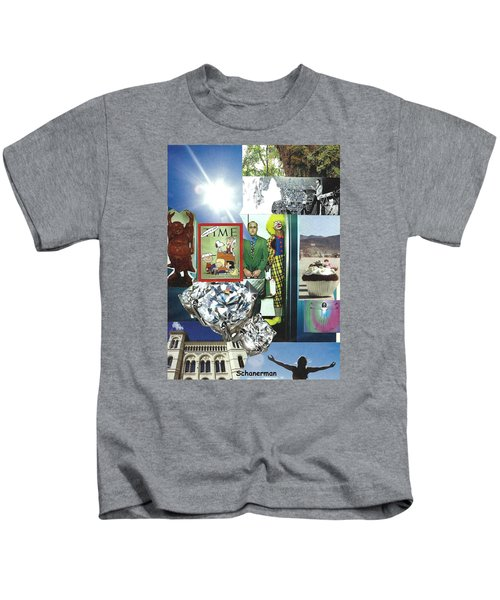 Embrace Light And Laughter Kids T-Shirt