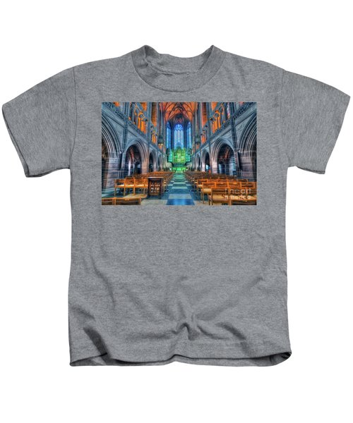 Faith Hope And Love Kids T-Shirt