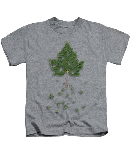 Fall Kids T-Shirt by AugenWerk Susann Serfezi