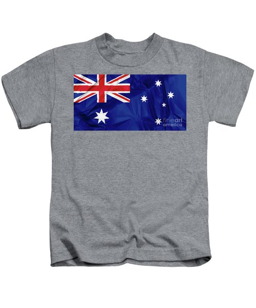 Flag Of Australia Kids T-Shirt