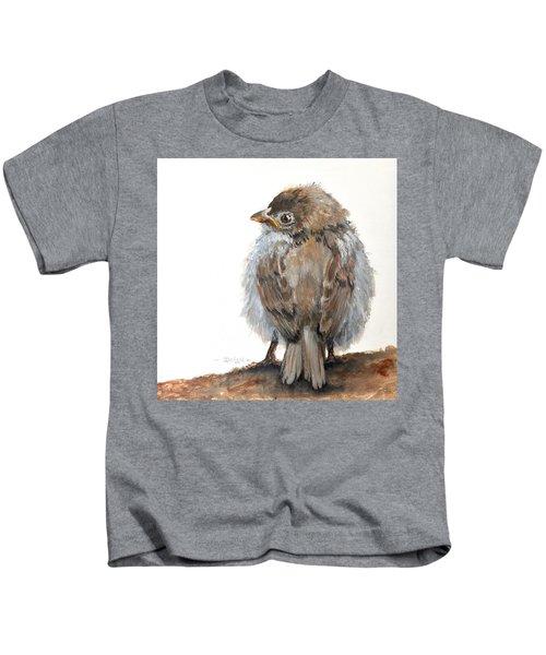 Fledgling Sparrow Kids T-Shirt
