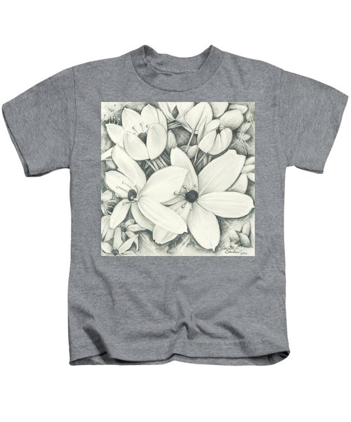 Flowers Pencil Kids T-Shirt
