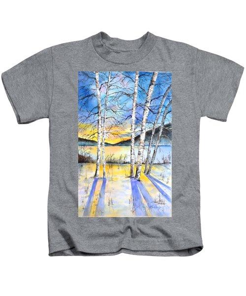For Love Of Winter #5 Kids T-Shirt