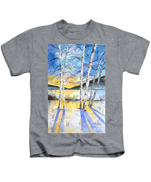 For Love Of Winter #5 Kids T-Shirt