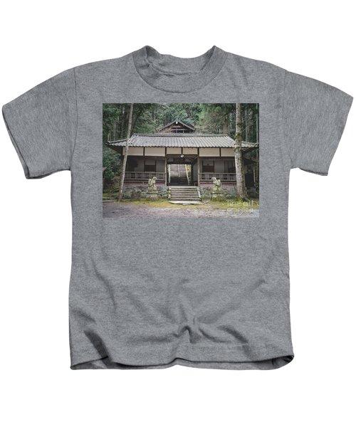 Forrest Shrine, Japan Kids T-Shirt
