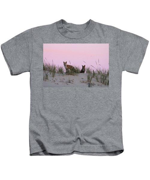 Fox And Vixen Kids T-Shirt