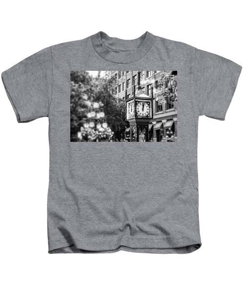 Gastown Steam Clock Kids T-Shirt