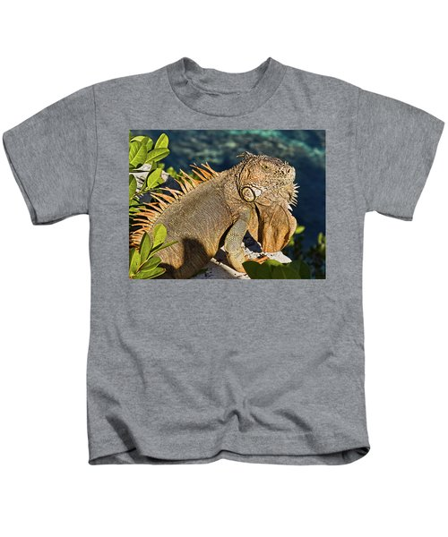 Giant Iguana Kids T-Shirt