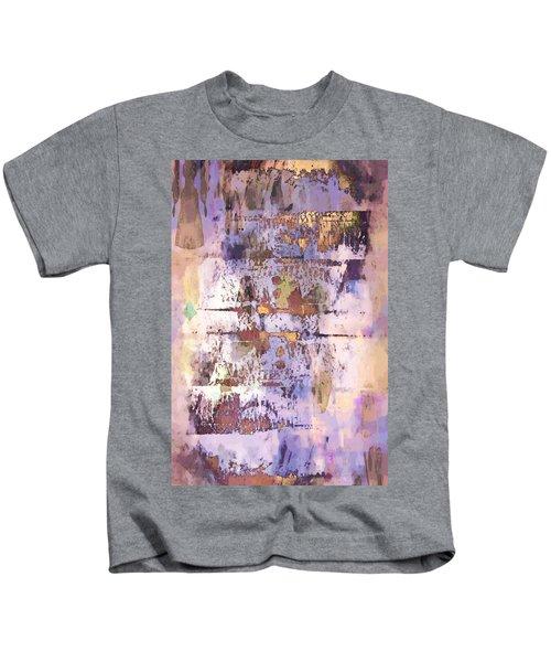 Grungy Abstract  Kids T-Shirt