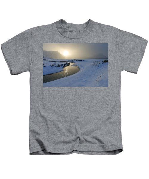 Haukland Beach, Lofoten Kids T-Shirt