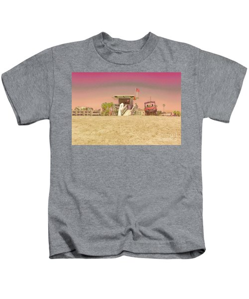 Lifeguard Tower 3 Kids T-Shirt