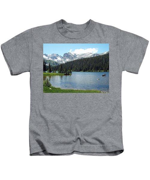 Long Lake Splender  Kids T-Shirt