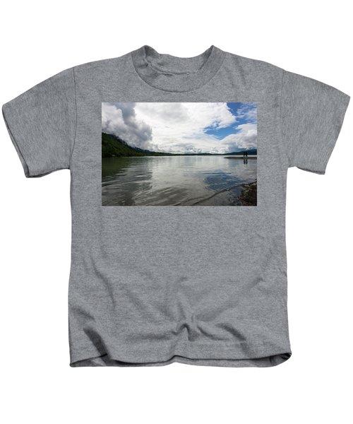 Mendenhall Lake Kids T-Shirt