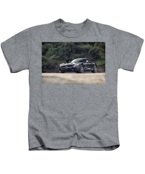 #mercedes #amg #gts Kids T-Shirt