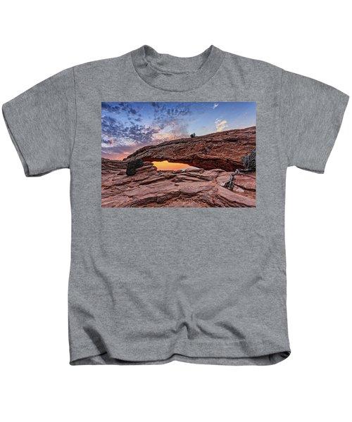 Mesa Arch At Sunrise Kids T-Shirt