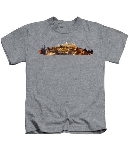 Mirror Finish Kids T-Shirt