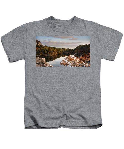 Mohonk Mountain House Lake Kids T-Shirt