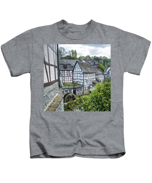Monschau In Germany Kids T-Shirt