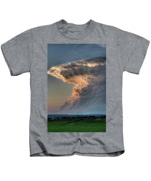 Montana Thunderstorm Kids T-Shirt