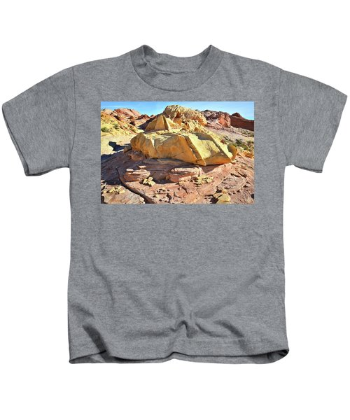 Morning In Wash 3 In Valley Of Fire Kids T-Shirt