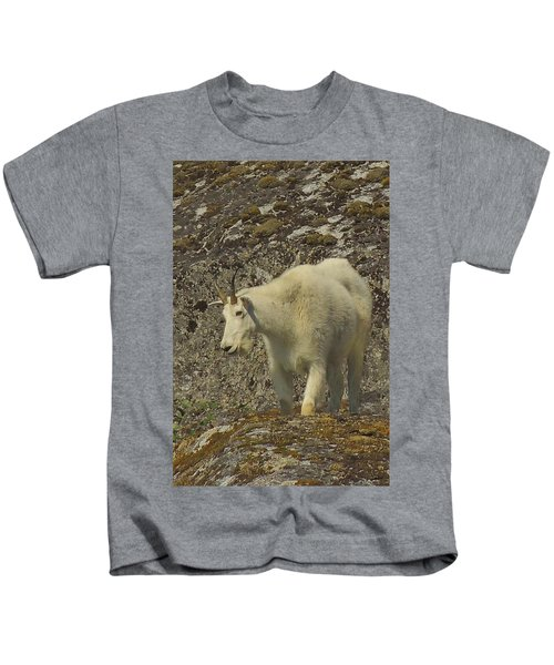Mountain Goat Ewe Kids T-Shirt