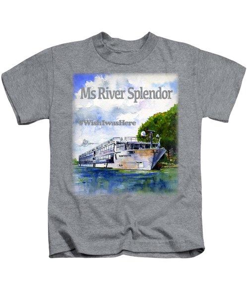 Ms River Splendor Shirt Kids T-Shirt