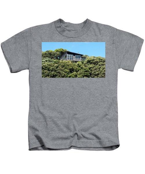 New Zealand - Pohutukawa Tree House  Kids T-Shirt