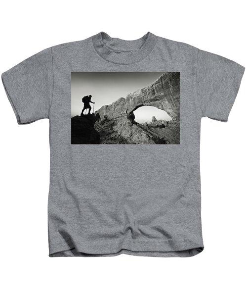 North Window Arch Kids T-Shirt