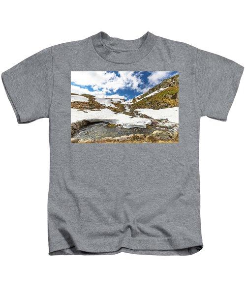 Norway Mountain Landscape Kids T-Shirt