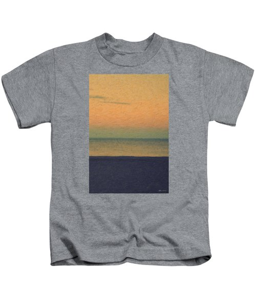 Not Quite Rothko - Breezy Twilight Kids T-Shirt