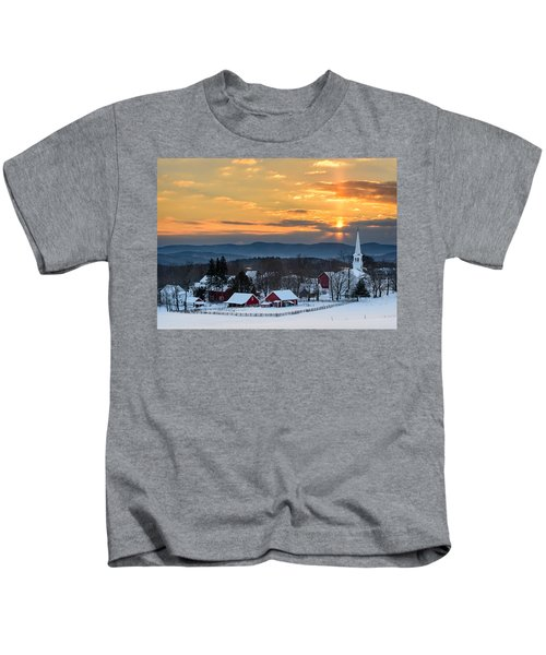 Peace Over Peacham Kids T-Shirt