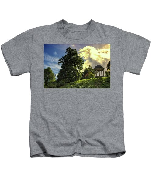 Petworth House Kids T-Shirt by Martin Newman