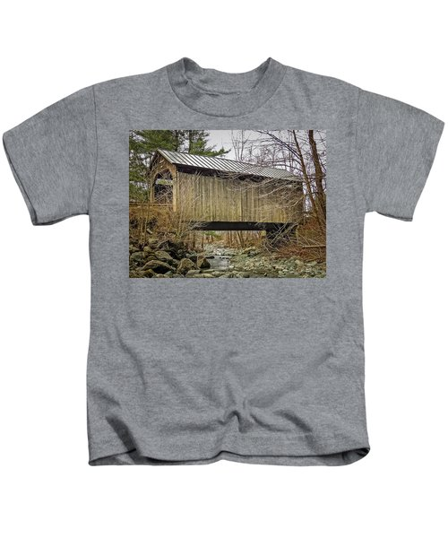 Pine Brook Bridge Kids T-Shirt