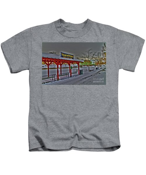 Pittsford Canal Park Kids T-Shirt