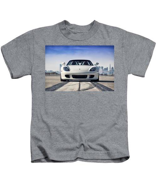 #porsche #carreragt Kids T-Shirt