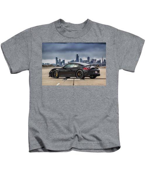 #porsche #cayman #gt4 Kids T-Shirt