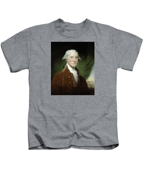 President George Washington  Kids T-Shirt