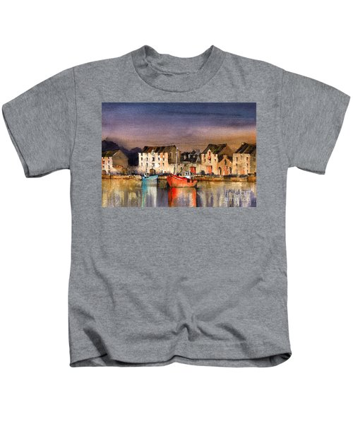 Ramelton Dusk, Donegal. Kids T-Shirt