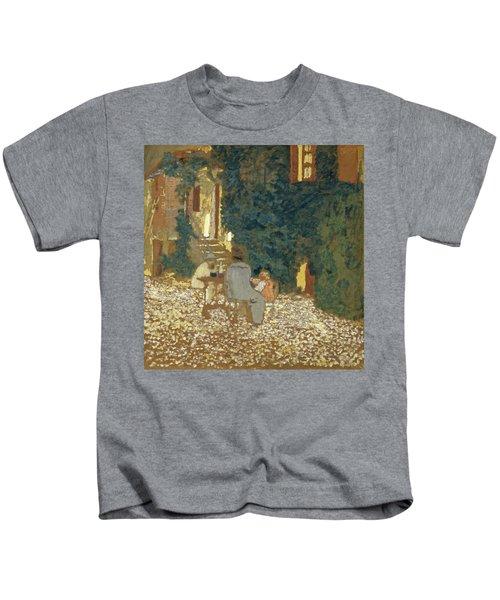 Repast In A Garden Kids T-Shirt