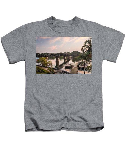River Kwai Bridge Kids T-Shirt