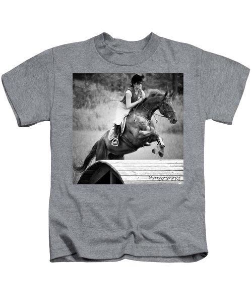 Sheer Determination Kids T-Shirt