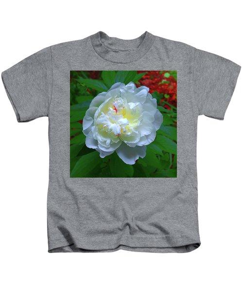 Spring Peony Kids T-Shirt